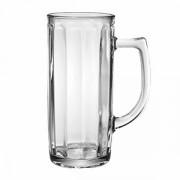 """Кружка пивная """"Гамбург"""", стекло, 300мл, D=72,H=150,B=107мм, прозр."""