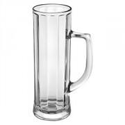 Кружка пивная «Данубио опт» стекло; 500мл; D=73,H=213мм; прозр.