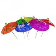 Зонтик на корот. ножке 100шт.
