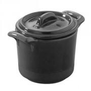 Горшок для запекания «Миниатюра» фарфор; 50мл; черный,матовый