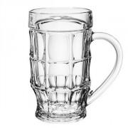 Кружка пивная «Пинта» стекло; 500мл; D=94,H=160мм; прозр.