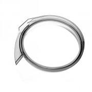 Кольцо сокосборника, пластик, H=6см, прозр.