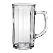 "Кружка пивная ""Гамбург"", стекло, 500мл, прозр."