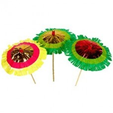 Зонтик на дер. палочке,100мм,50шт.