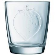 «Фрути энерджи клубника» стекло; 250мл; D=77,H=90мм;