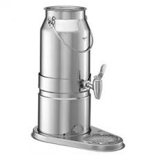 Диспенсер для молока, сталь нерж., 5л, H=44,L=23,B=44см