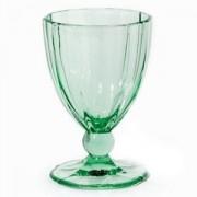 Бокал для воды «Анаис» стекло; 420мл; зелен.