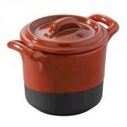 Горшок для запекания «Миниатюра» фарфор; 50мл; красный
