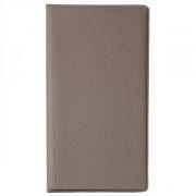 Папка для счетов 11*22см коричневая