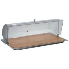 Буфет-витрина с крыш. для сыра, дерево