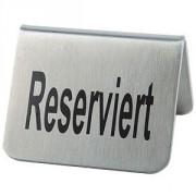 Табличка «Резерв» [2шт] металл; H=5,L=5,B=5см
