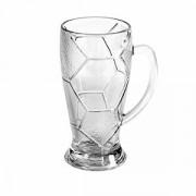 Кружка пивная «Лига» стекло; 690мл; D=95,H=190,B=134мм; прозр.
