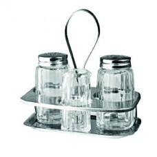 Набор для специй соль, перец, ст. для зубоч.