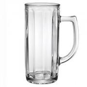 Кружка пивная «Данубио опт» стекло; 300мл; D=63,H=193мм; прозр.