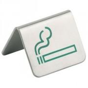 Табличка «Можно курить» [2шт] металл; 100мл; H=37,L=50,B=50мм