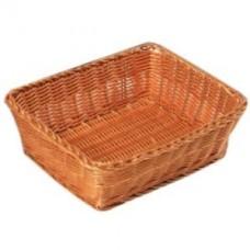 Корзина плетен.для хлеба прям. 28*20*11.5с