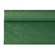 Скатерть в рул. темно-зелен. 1.2*8м