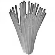 """Трубочки """"Фло"""" [500шт], D=3,L=100мм, прозр"""