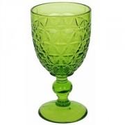 Бокал для воды «Абигейл» стекло; 310мл; D=85,H=160мм; зелен.