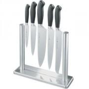 Набор ножей 5шт.на стекл.подставке