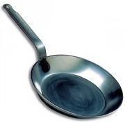 Сковорода 22см черная сталь
