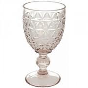 Бокал для воды «Абигейл» стекло; 310мл; D=85,H=160мм; розов.