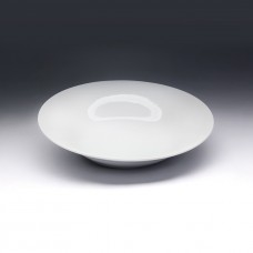 Тарелка глубокая «Коллаж» фарфор; 750мл; D=22.5см; белый